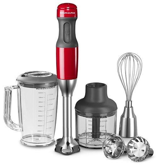 KitchenAid® Stabmixer 5KHB2571EER, 180 Watt, 5 Stufen in Empire Rot