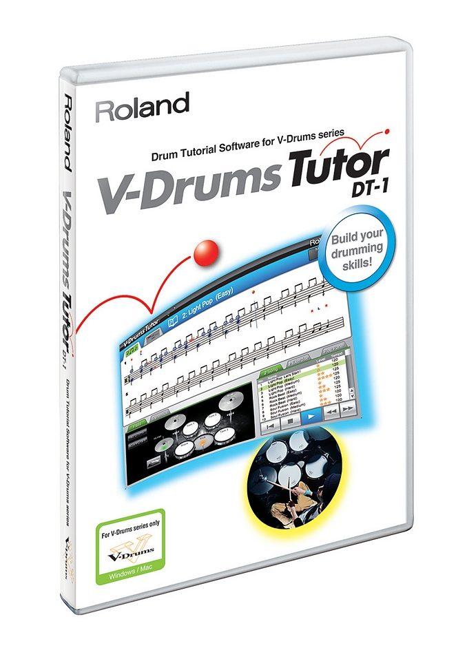 E-Drum - Lernsoftware, Roland, »DT-1«