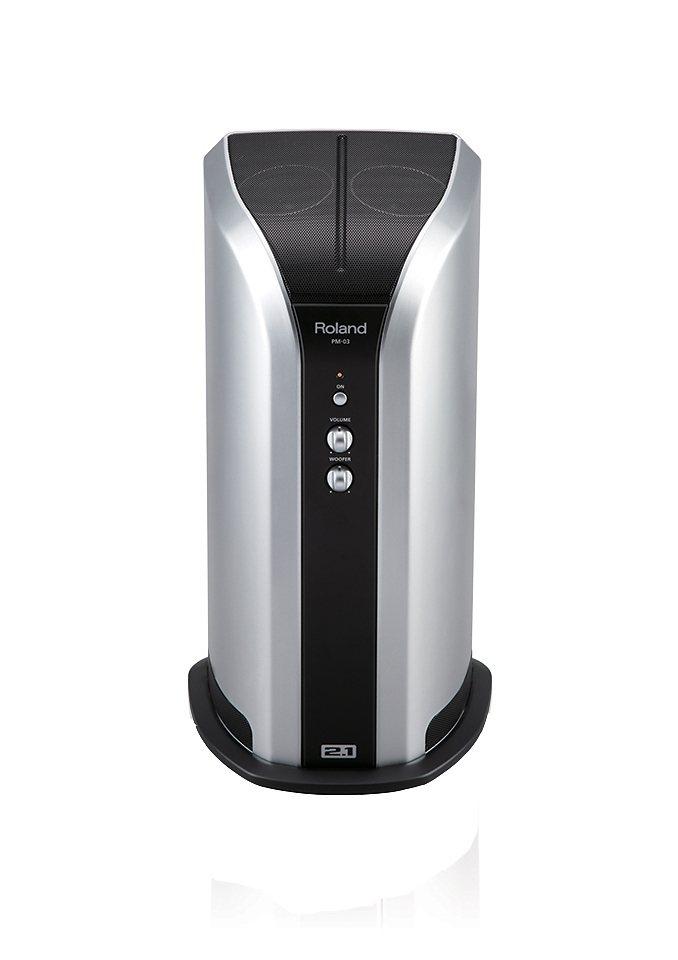 E-Drum Aktiv-Monitor, Roland, »PM-03« in silberfarben
