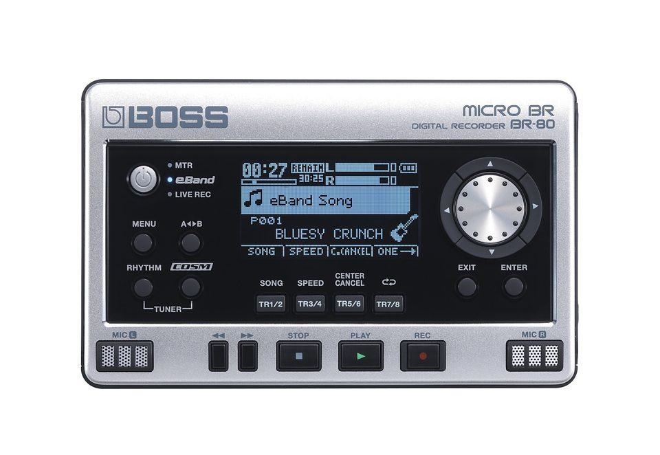Digitales Aufnahmegerät, Boss by Roland, »BR-80«