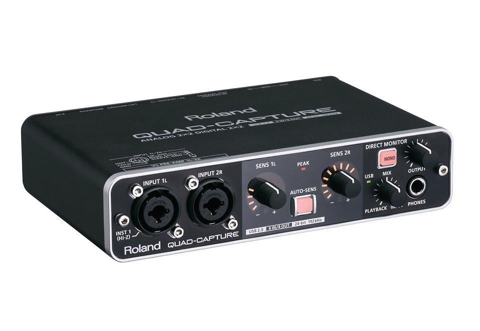 Audio Interface, Roland, »UA-55« in schwarz