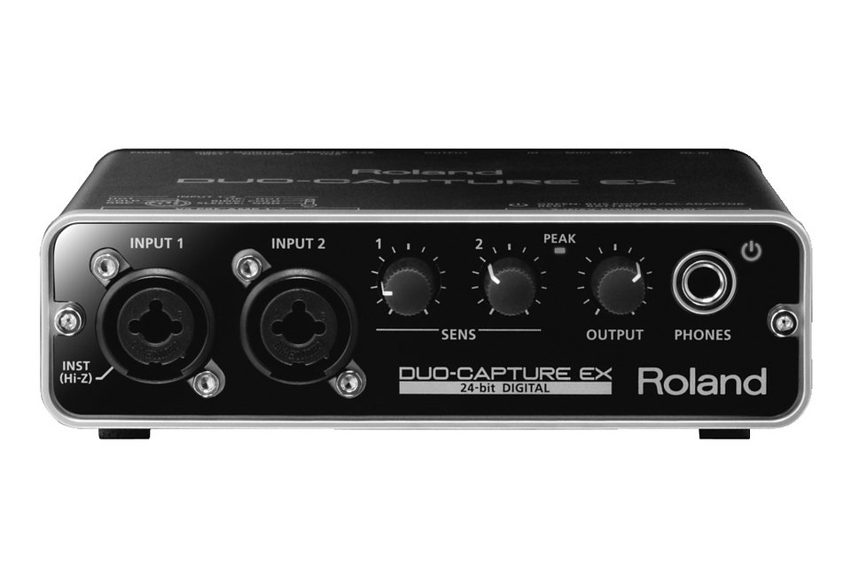 Audio Interface, Roland, »DUO CAPTURE EX« in schwarz