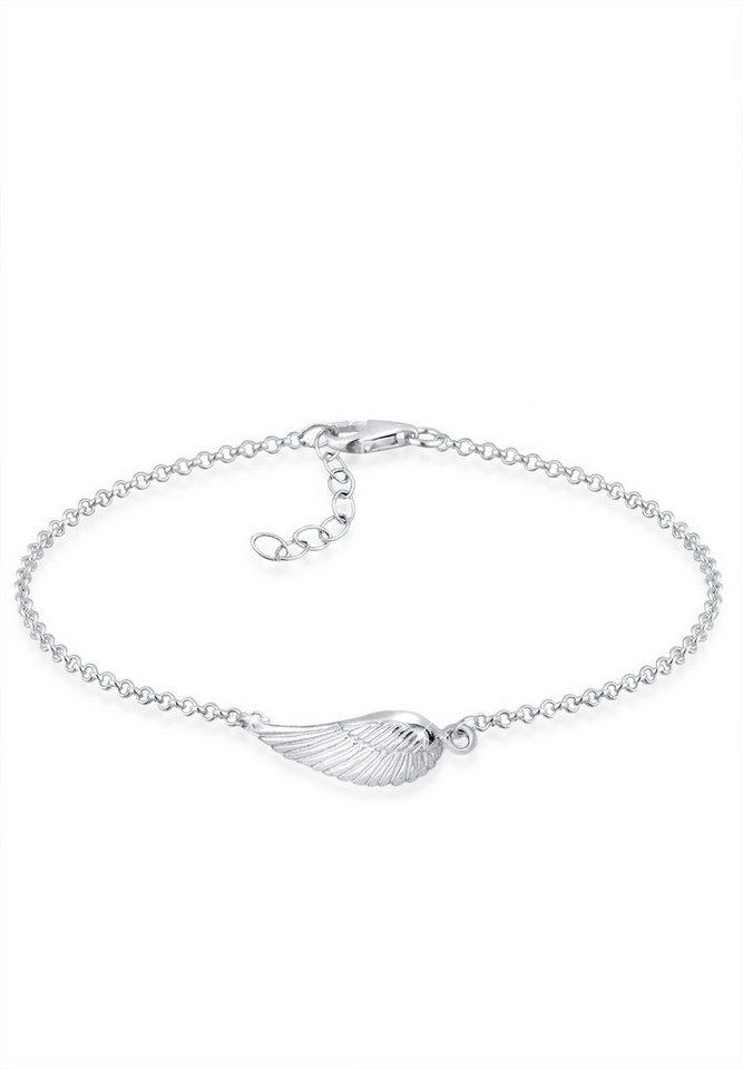 Elli Armband »Flügel Silber« in Silber