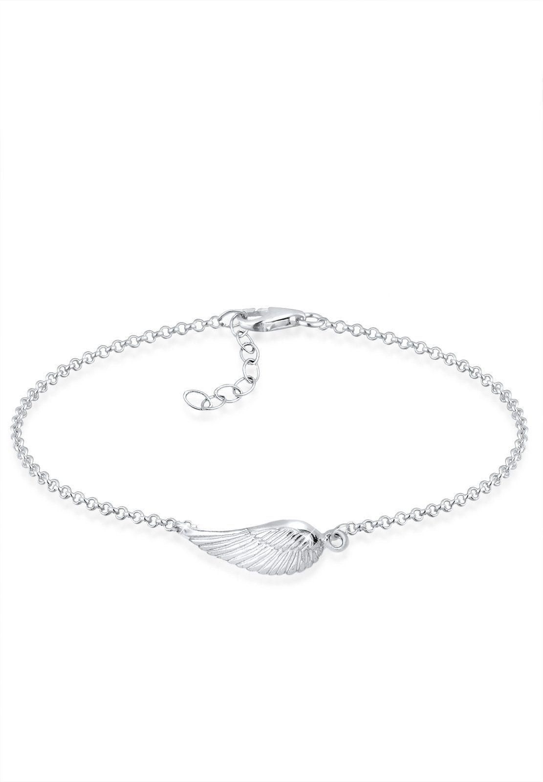 Elli Armband »Flügel Silber«