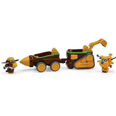 Super Wings Spielzeug-Flugzeug »Super Wings Todd's Dig Rig (Transform-a-Bot 2)«