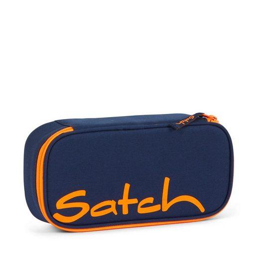 Satch Schulranzen »Schlamperbox Toxic Orange + Radierer« (Schlamperbox + Radiergummi), Schulzubehör, Federmäppchen, Schule