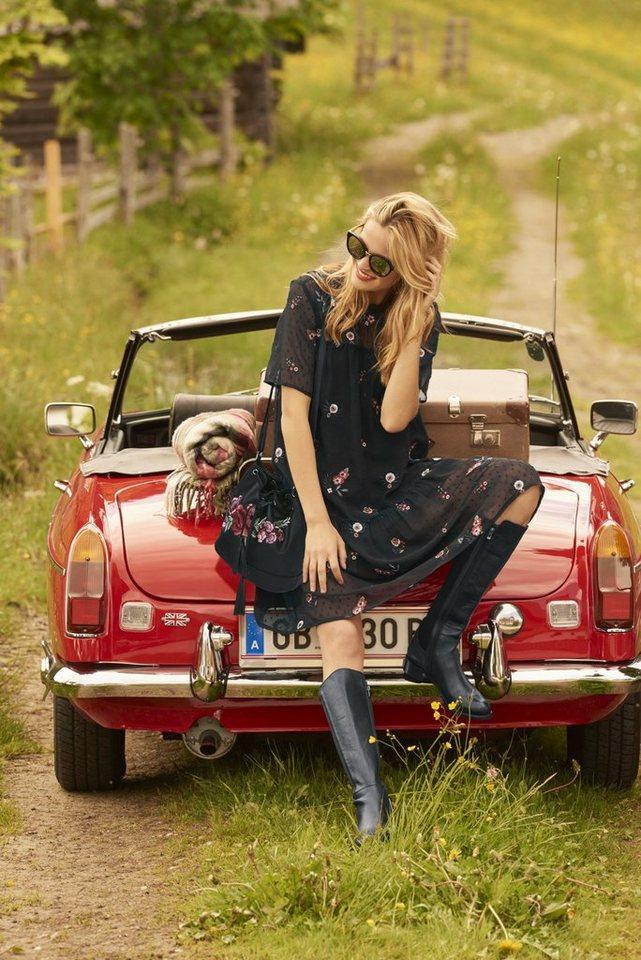 Festtagsmode - LINEA TESINI by Heine Spitzenkleid mit Stickereien ›  - Onlineshop OTTO