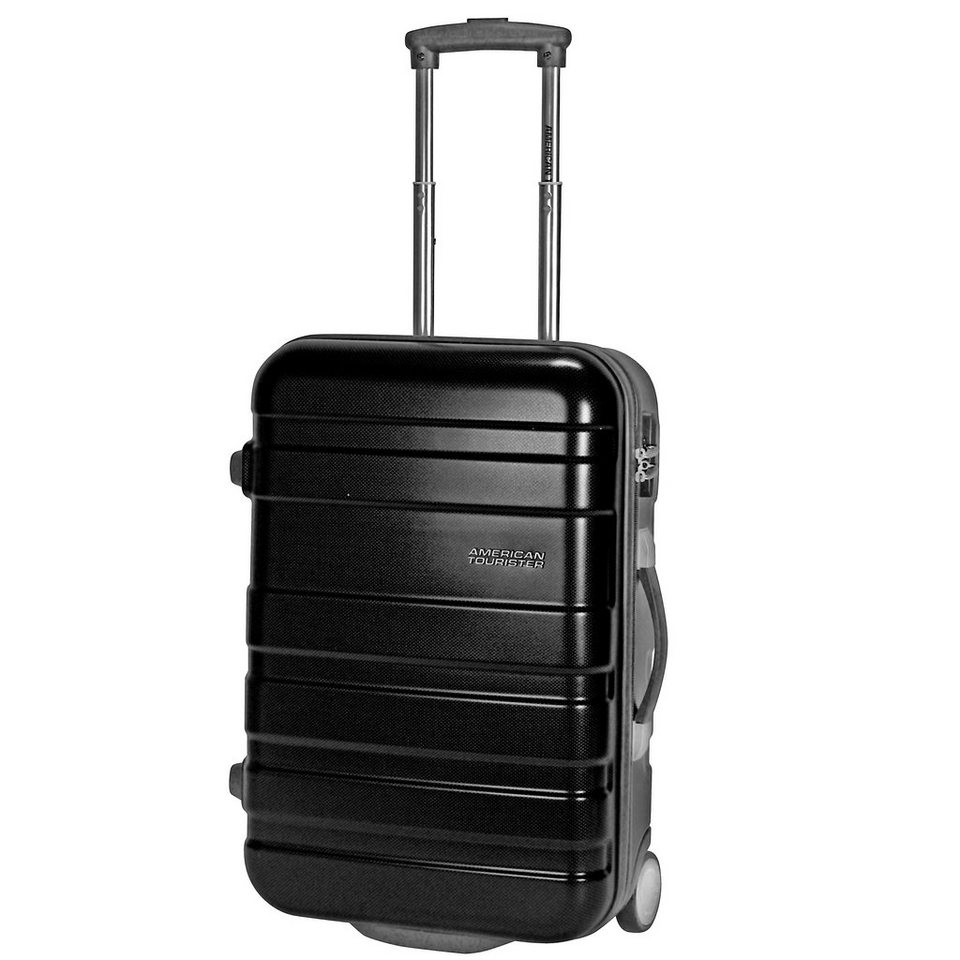 American Tourister Pasadena Upright 2-Rollen Kabinen-Trolley 55 cm in black