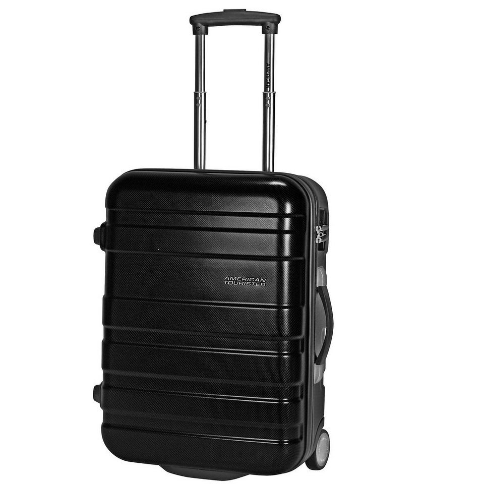 American Tourister Pasadena Upright 2-Rollen Kabinen-Trolley 50 cm in black