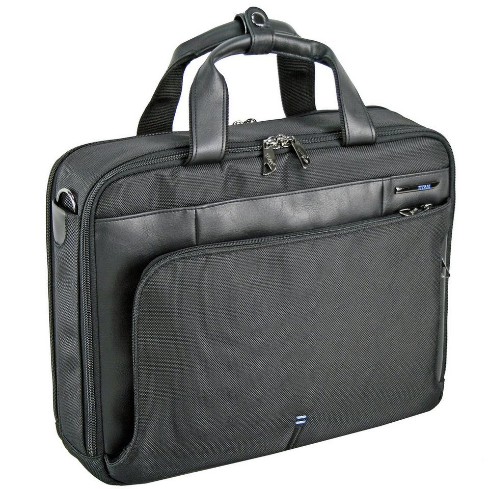 Titan Galaxy Businesscase 40 cm Laptopfach in schwarz 2013