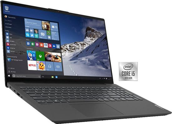 Lenovo ideapad 5 15IIL05 Notebook (35,6 cm/15,6 Zoll, Intel Core i5, UHD Graphics, 512 GB SSD)