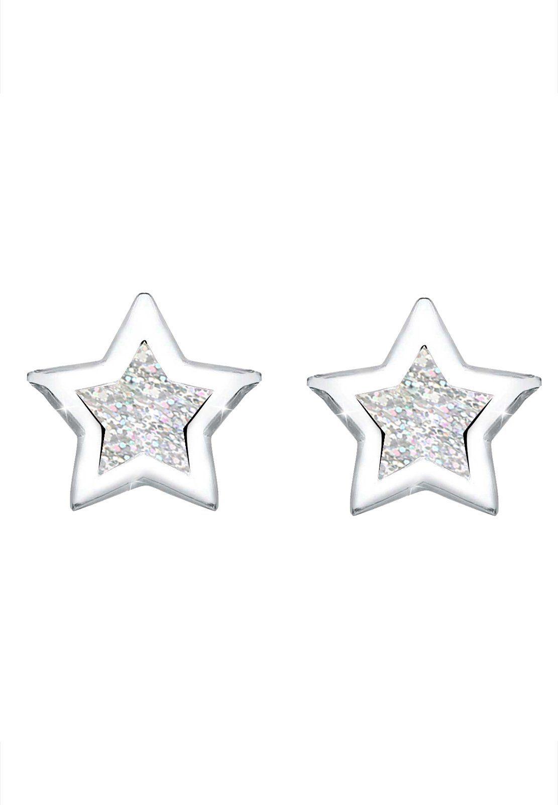 Online Elli Trend Kaufen Ohrringe »stern Astro Silber« Filigran 925 Emaille yv0OPmwN8n