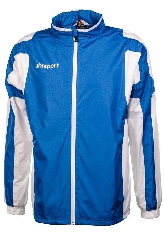 UHLSPORT Cup Regenjacke Herren in azurblau / weiß