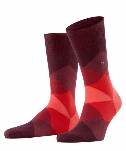 Burlington Socken »Clyde« (1-Paar) aus weicher gekämmter Baumwolle