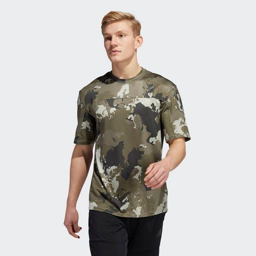 adidas Performance T-Shirt »Continent Camo City T-Shirt«