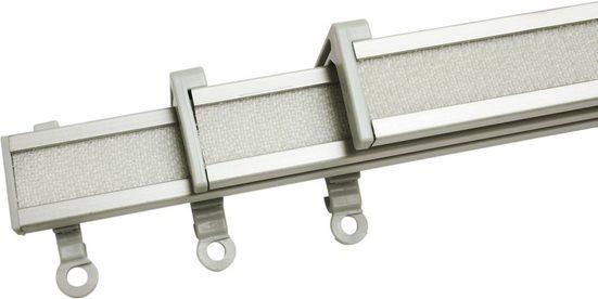 Paneelwagen »Clip-On Paneelwagen«, GARDINIA, (3-St), Kunststoff, Serie Vorhangschiene Perfectline