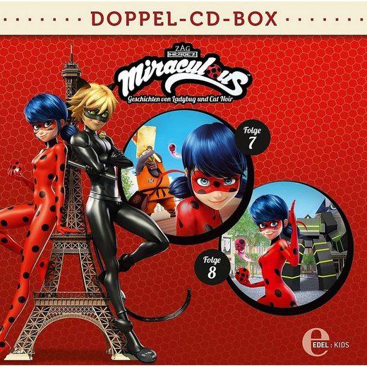 Edel Hörspiel »CD Miraculous Doppelbox Folgen 7 + 8 (2 CDs)«