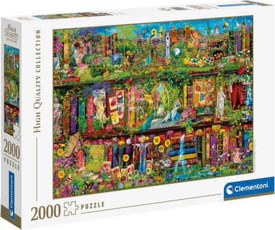Clementoni® Puzzle »High Quality Collection - Das Garten-Regal«, 2000 Puzzleteile, Made in Europe, FSC® - schützt Wald - weltweit