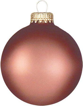 Krebs Glas Lauscha Weihnachtsbaumkugel »CBK70417« (8 Stück)