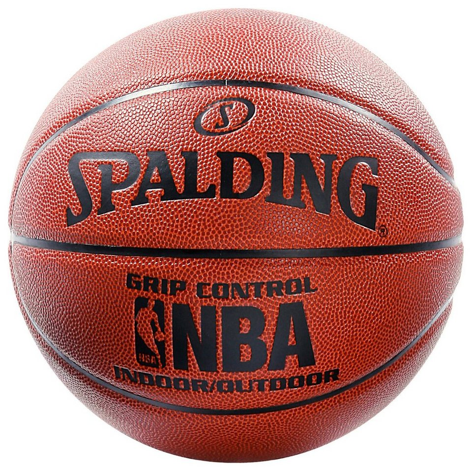 SPALDING NBA Grip Control In/Out (74-221Z) Basketball in braun