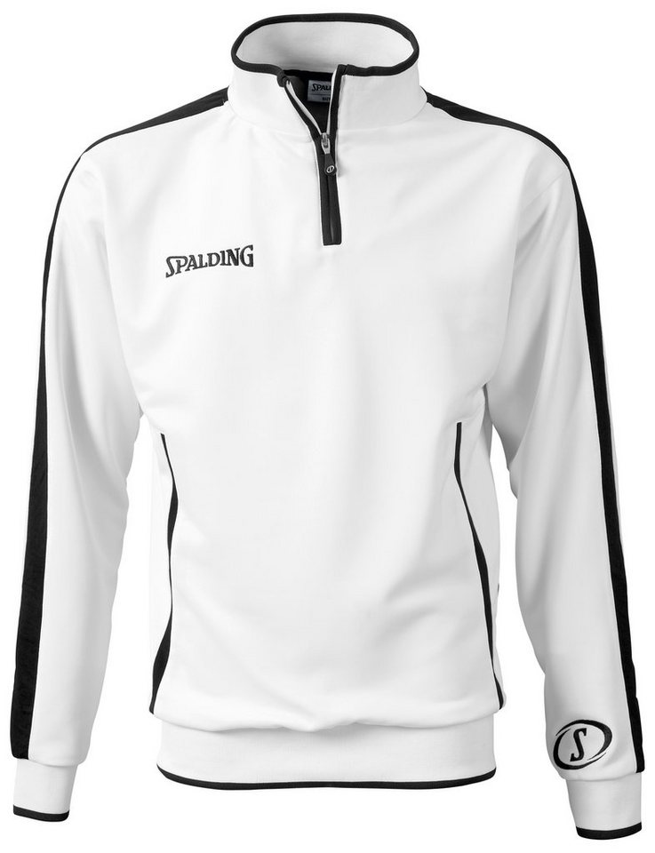 SPALDING Evolution Quarterzip Herren in weiß / schwarz