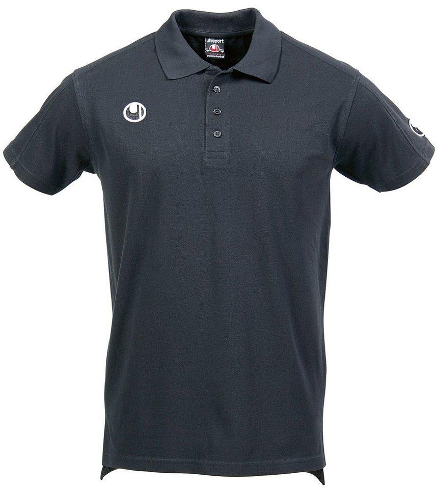 UHLSPORT Klassik Polo Shirt Herren in schwarz