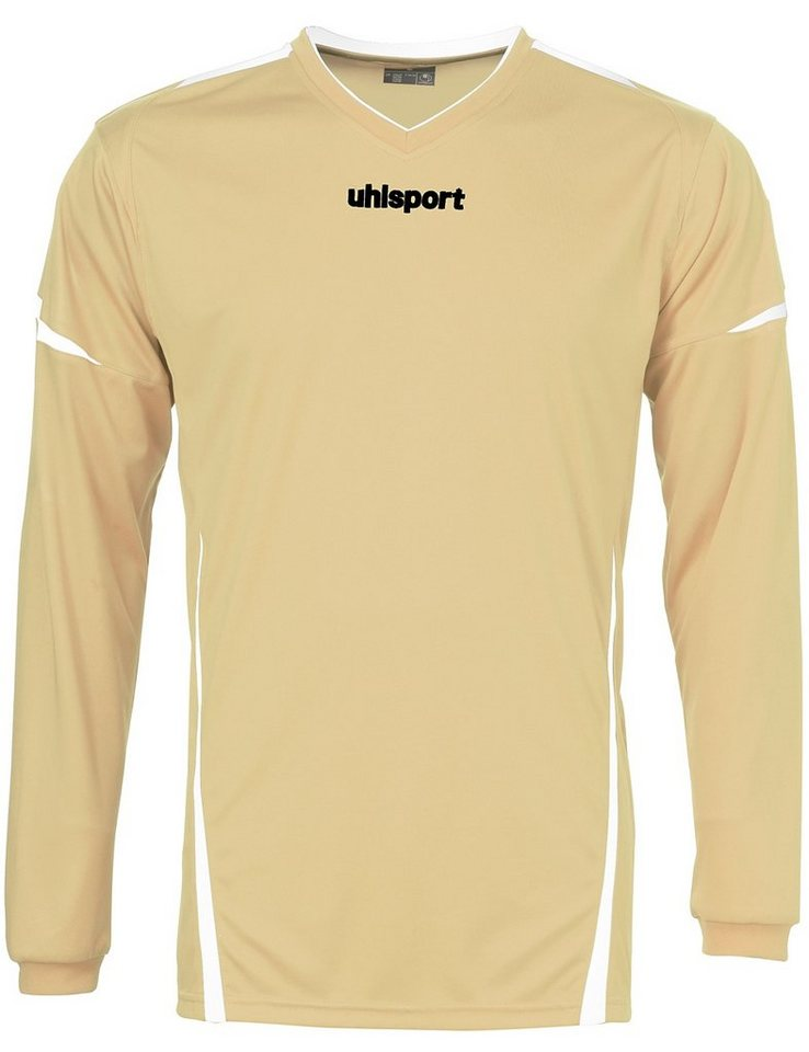 UHLSPORT Team Trikot Langarm Kinder in gold / weiß