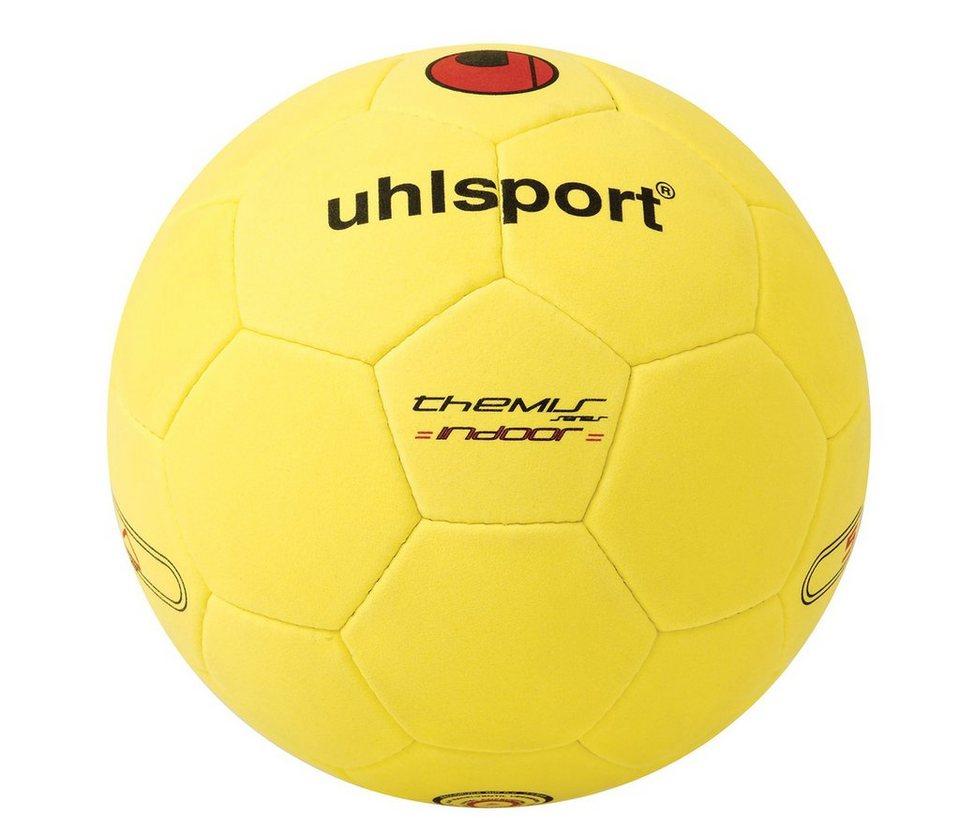 UHLSPORT Themis Indoor Fußball in gelb / schwarz / rot