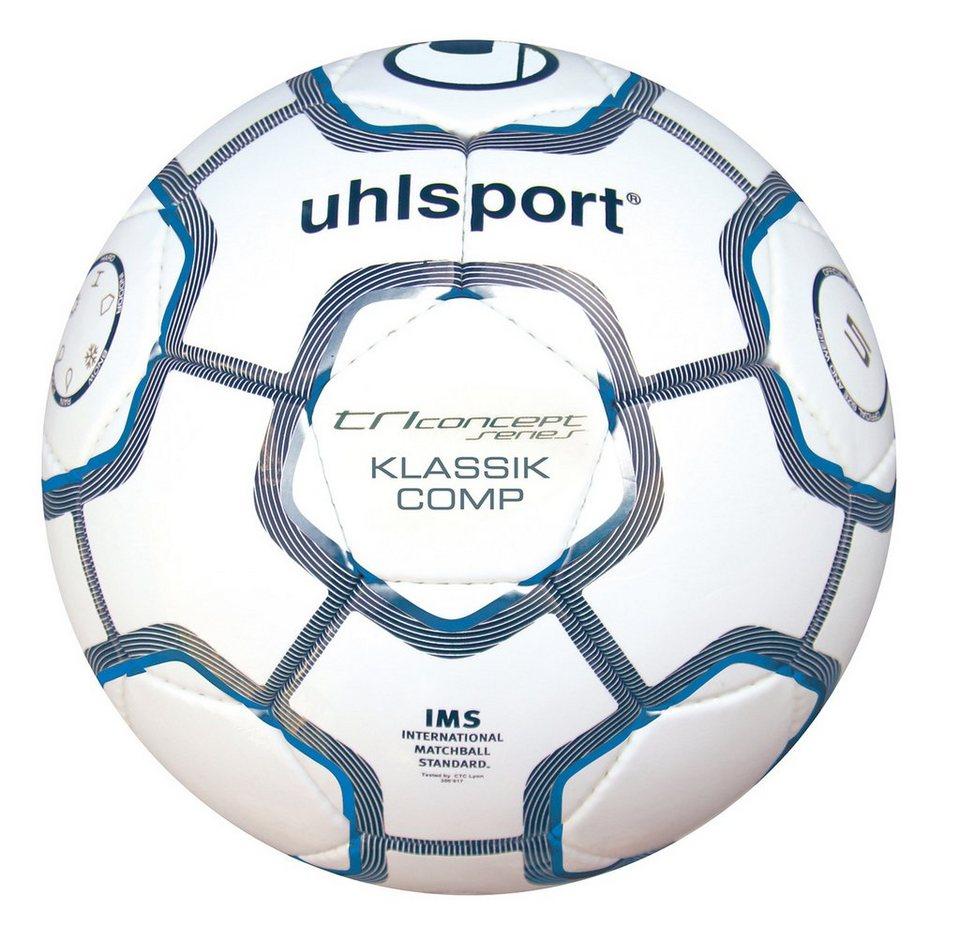 UHLSPORT TC Klassik Comp Fußball in weiß / marine