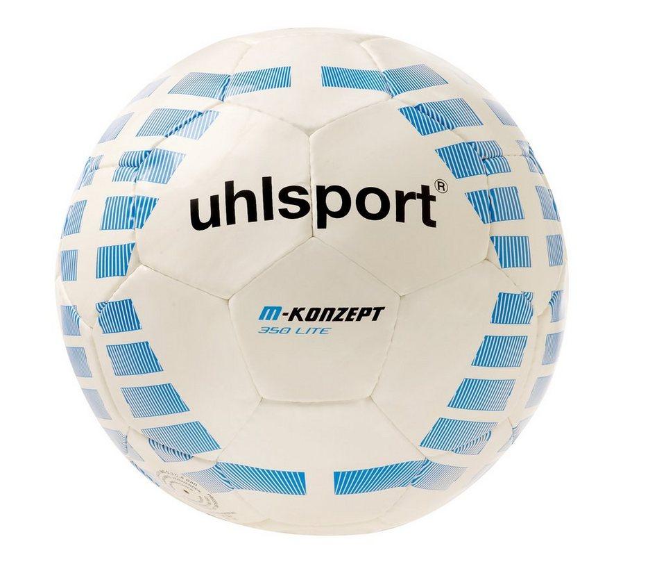 UHLSPORT M-Konzept 350 Lite Fußball in weiß / blau