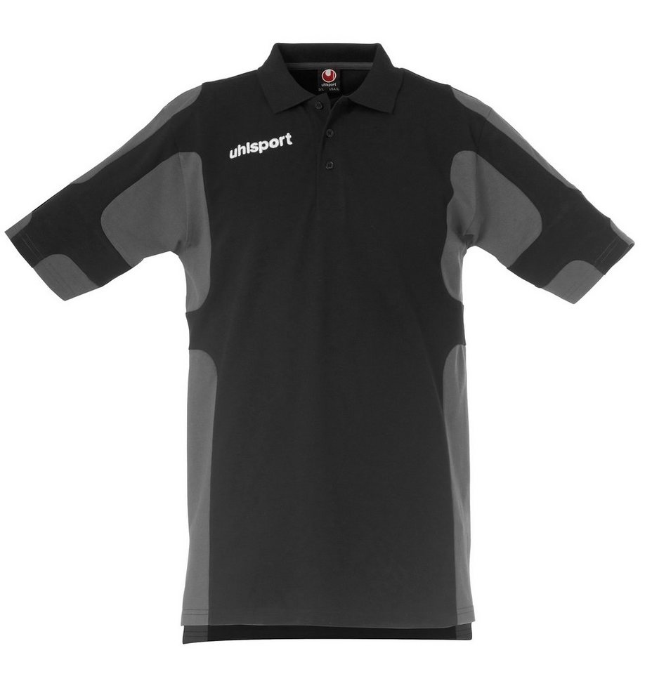 UHLSPORT Cup Polo Shirt Kinder in schwarz / anthrazit