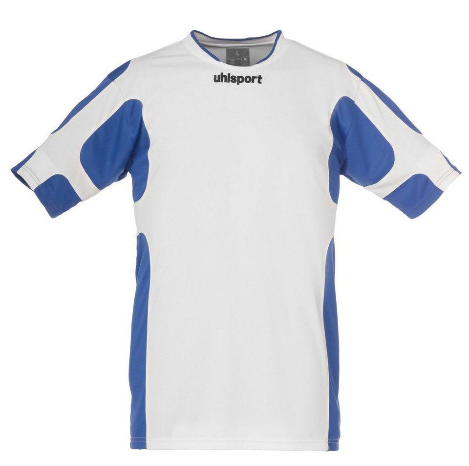 UHLSPORT Cup Trikot Kurzarm Kinder in weiß / azurblau