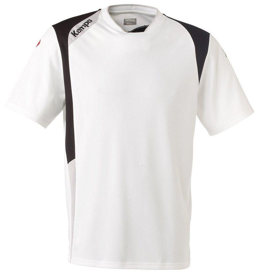KEMPA Base Shirt Herren in weiß / schwarz