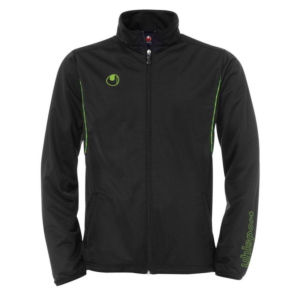UHLSPORT Training Classic Jacke Herren in schwarz / grün flash