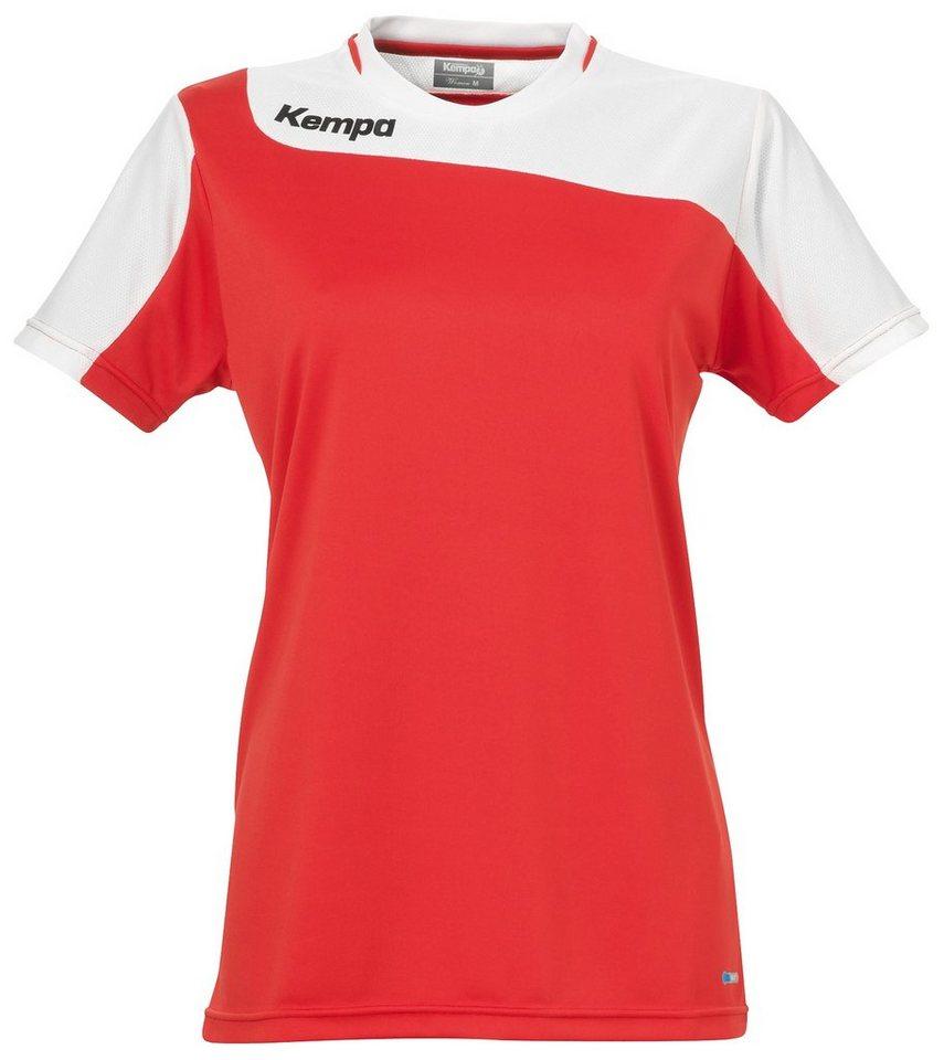 KEMPA Tribute Shirt Damen in rot / weiß
