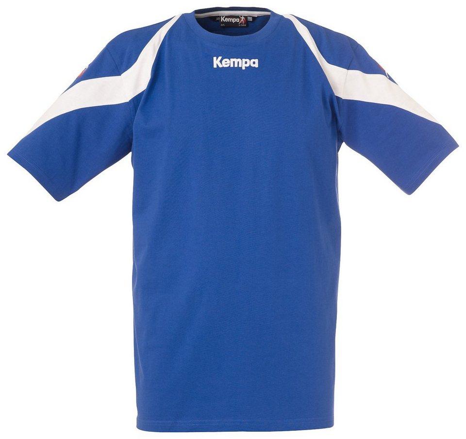 KEMPA Motion T-Shirt Herren in royal / weiß