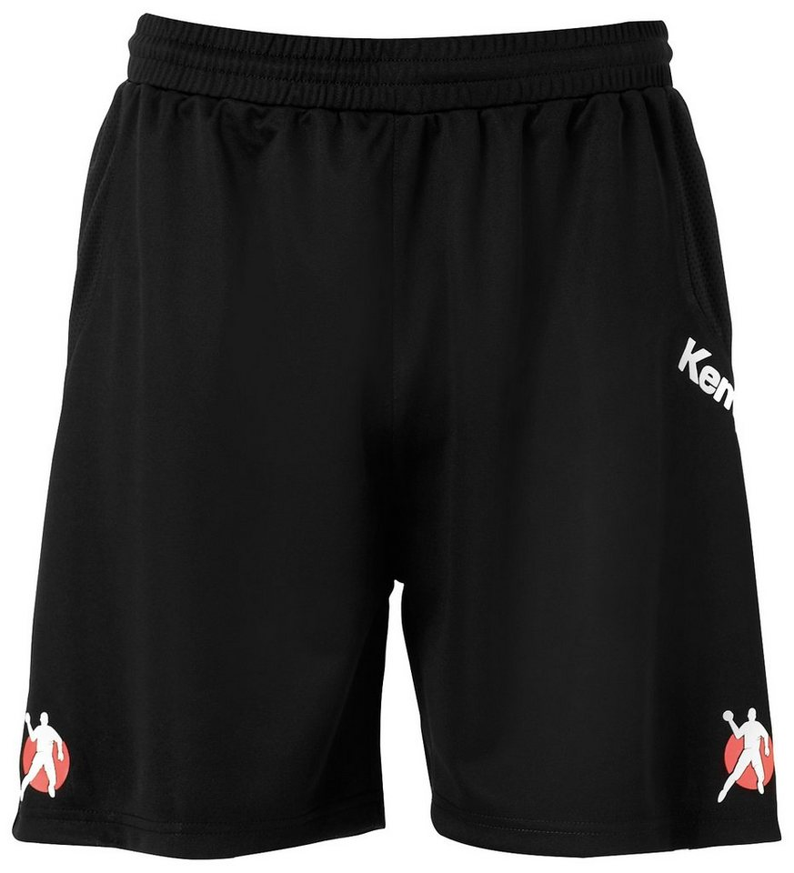 KEMPA Referee Shorts Kinder in schwarz