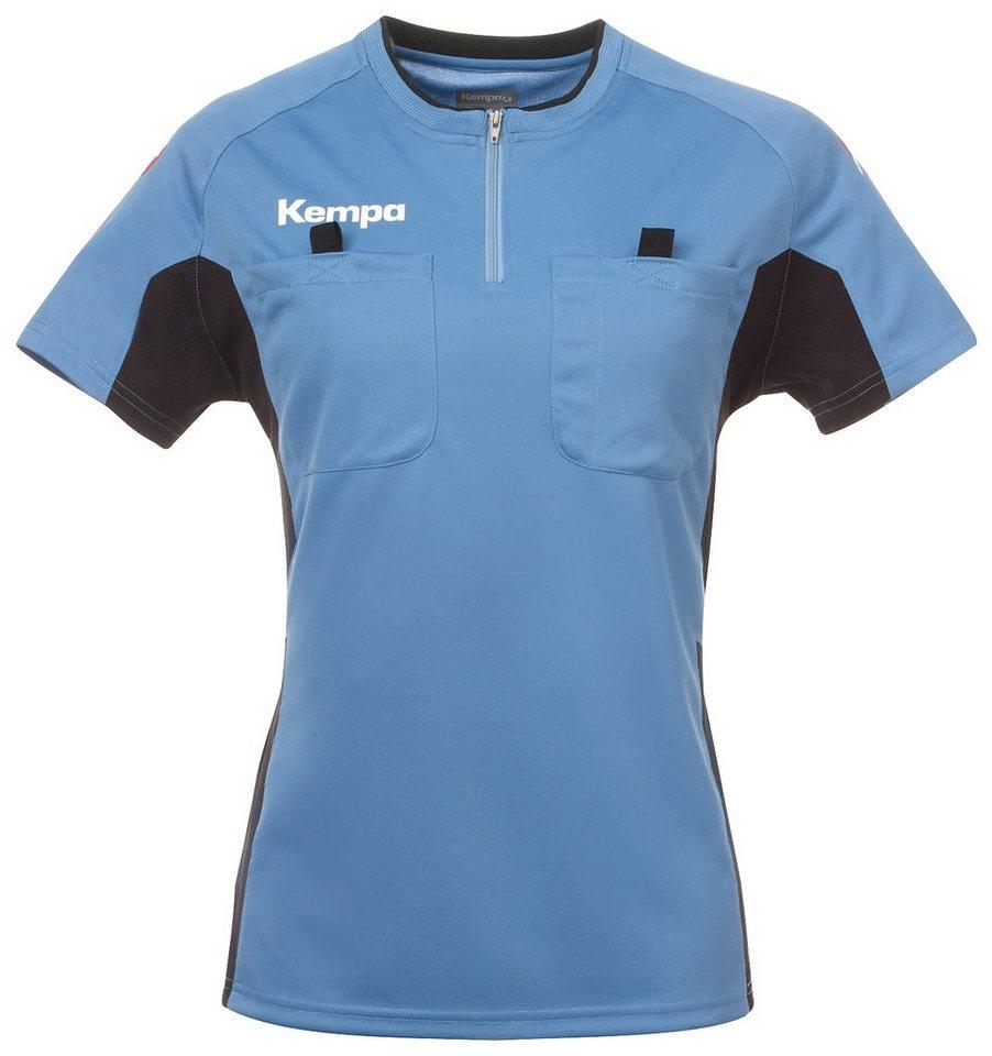 KEMPA Referee Shirt Damen in fair blau / schwarz