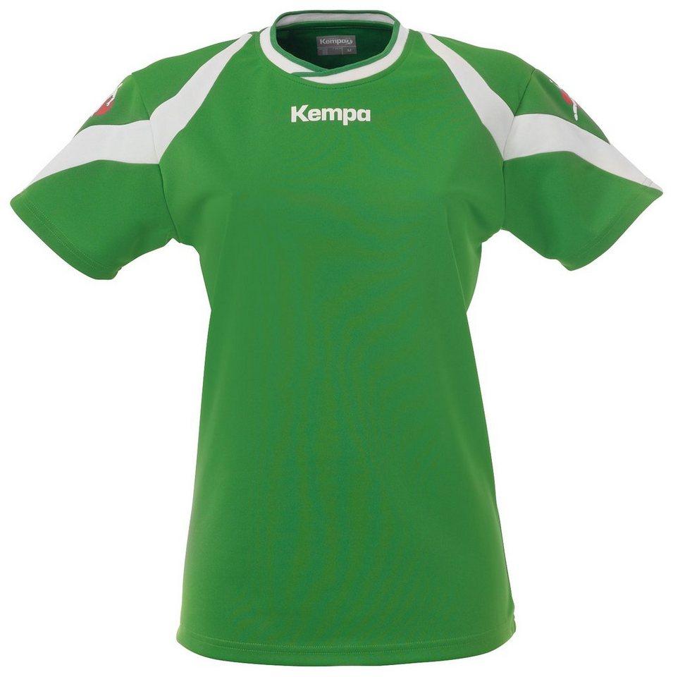 KEMPA Motion Trikot Damen in grün / weiß