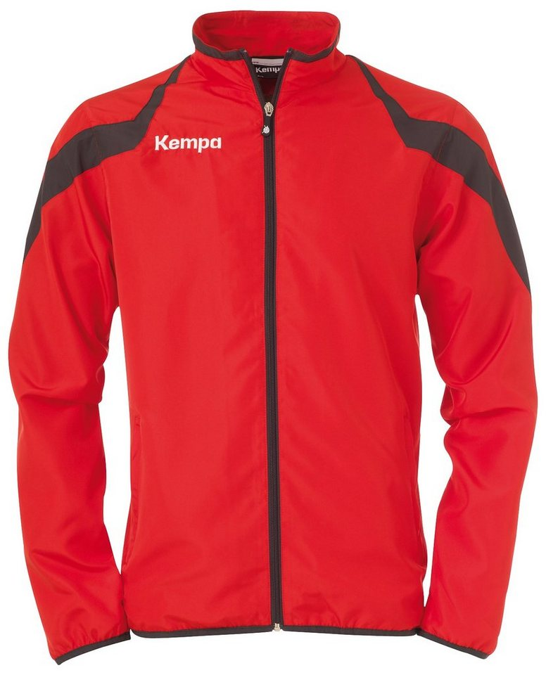 KEMPA Motion Webjacke Kinder in rot / anthrazit