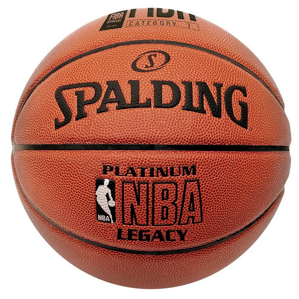 SPALDING NBA Platinum Legacy (74-456Z) Basketball in braun / orange