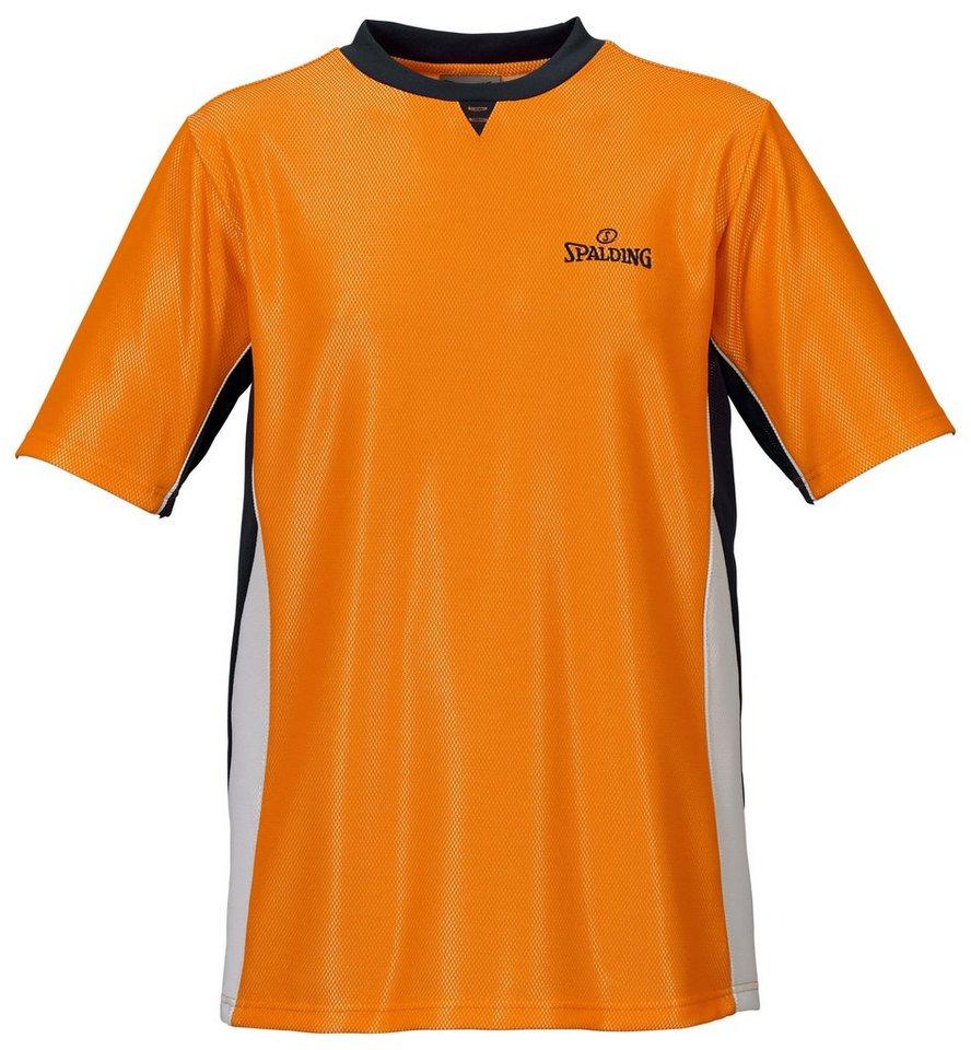 SPALDING Schiedsrichtershirt Pro Herren in orange / schwarz