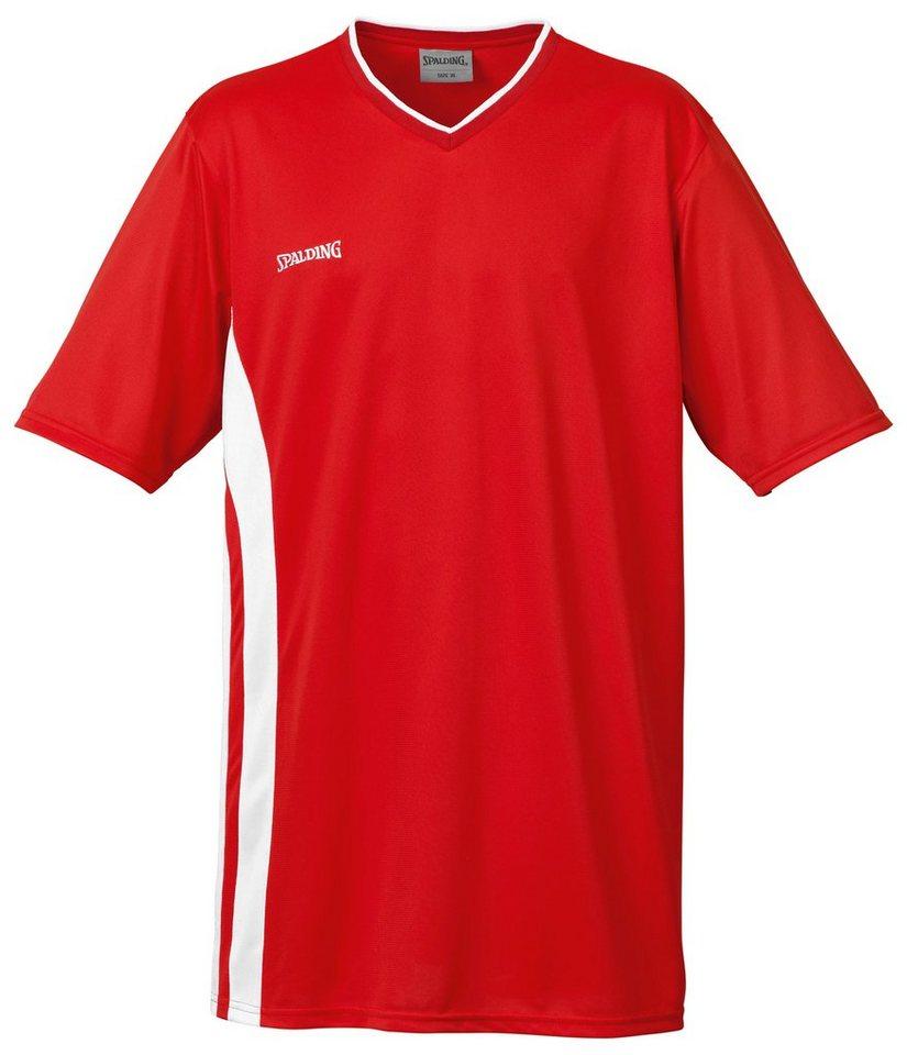 SPALDING MVP Shooting Shirt Kinder in rot / weiß