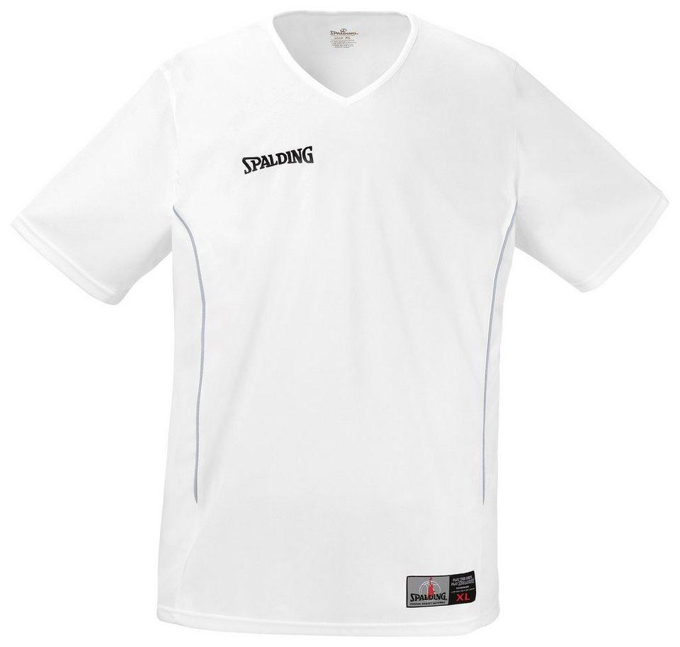SPALDING Score Shooting Shirt Herren in weiß / silbergrau