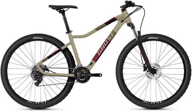 Ghost Mountainbike Lanao Base 27.5 AL W , 21 Gang Shimano Tourney 7-fach Schaltwerk, Kettenschaltung