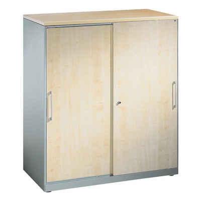 CP Schiebetürenschrank »Asisto« 2 OH, mit Holzdekor-Türen
