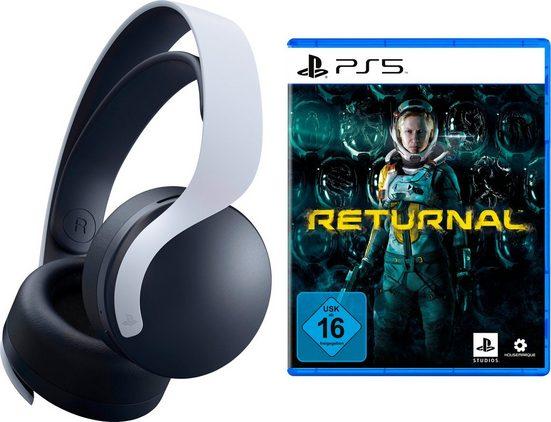 PlayStation 5 »PULSE 3D« Wireless-Headset (Rauschunterdrückung, inkl. Returnal)