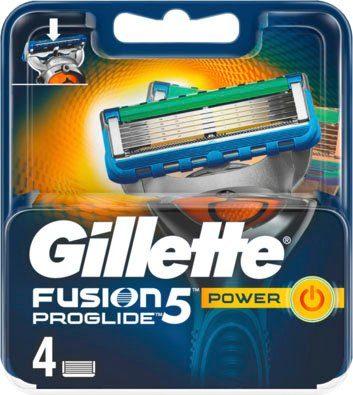 Gillette Rasierklingen »Fusion ProGlide Power«, 4-tlg.