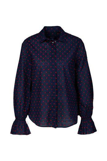 Gant Schlupfbluse »D1. Smock Dot Dobby Shirt«