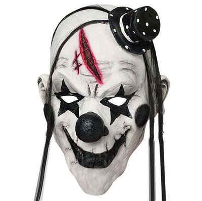 Goods+Gadgets Clown-Kostüm »Clown-Maske aus Latex«, Halloween Gruselmaske Gesichtsmaske